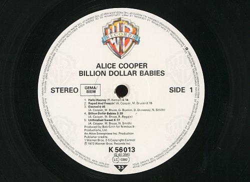 Alice Cooper - Billion Dollar Babies (1973)