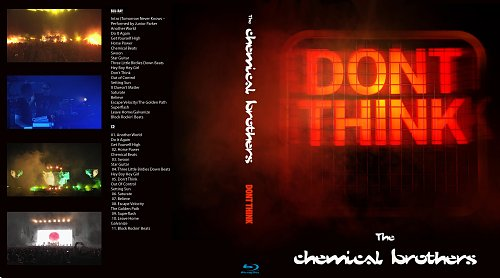 The Chemical Brothers - Don't Think (2012)