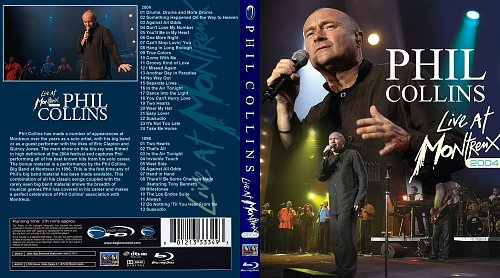 Phil Collins - Live At Montreux (2004)