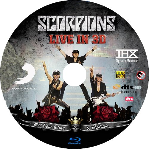Scorpions Live - Get Your Sting & Blackout
