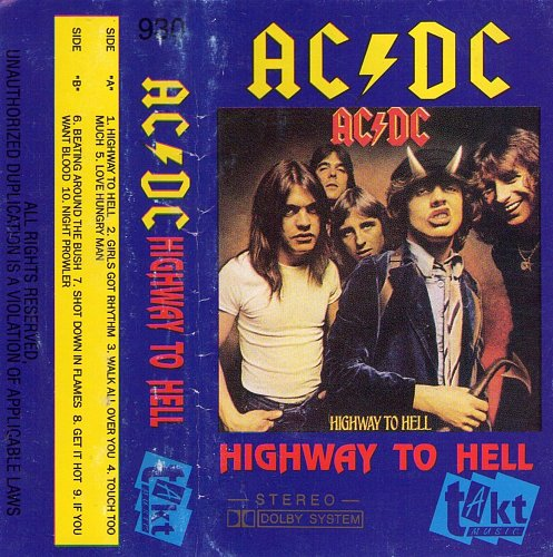 AC/DC - Highway To Hell (1992)