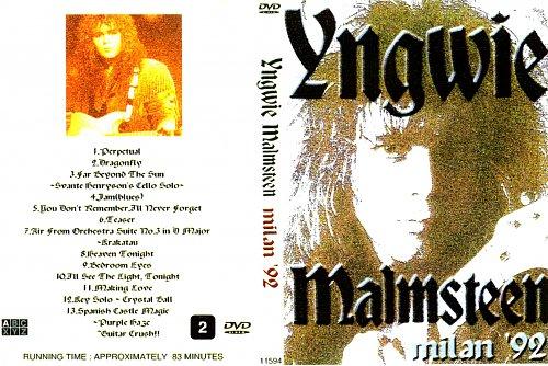 Yngwie Malmsteen - Milan 1992