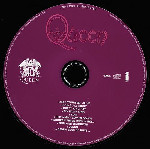 Queen (1973) Queen [Japan SHM-CD, UICY-75011-2, 2011]