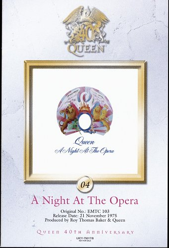 Queen (1975) A Night At The Opera [Japan SHM-CD, UICY-75017-8, 2011]