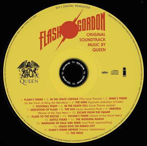 Queen (1980) Flash Gordon [Japan SHM-CD, UICY-75051-2, 2011]