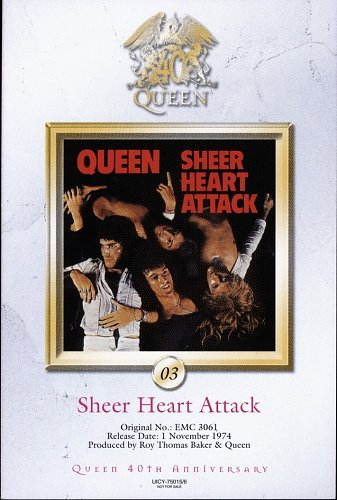 Queen (1974) Sheer Heart Attack [Japan SHM-CD, UICY-75015-6, 2011]