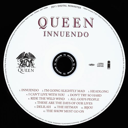 Queen (1991) Innuendo [Japan SHM-CD, UICY-75065-6, 2011]