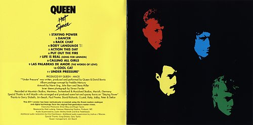 Queen (1982) Hot Space [Japan SHM-CD, UICY-75053-4, 2011]