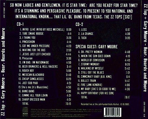 ZZ Top & Gary Moore - Beers, Beards & Moore (2CD) (2002)