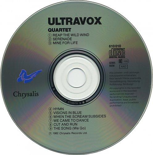 Ultravox . 1982 . Quartet