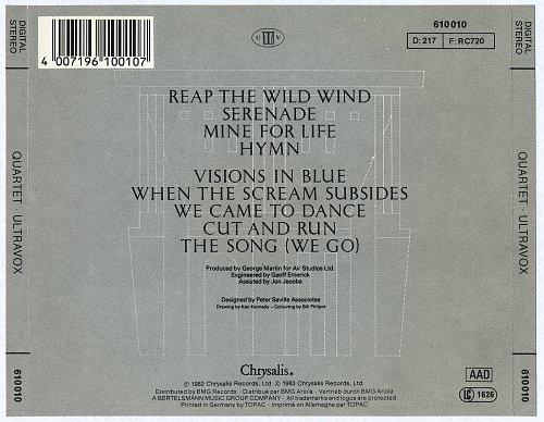 Ultravox - Quartet (1982)
