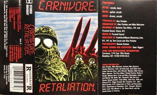 Carnivore - Retaliation (1987)