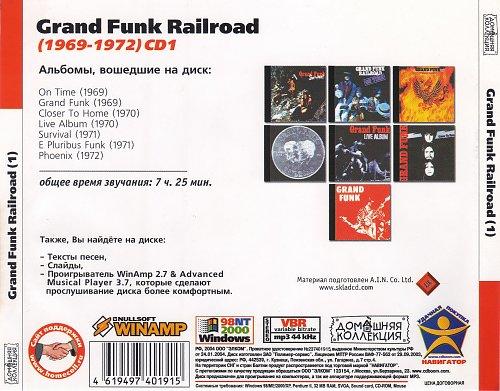 Grand Funk Railroad CD1 (Back)