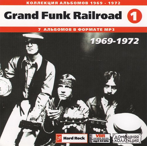 Grand Funk Railroad CD1 (Front)