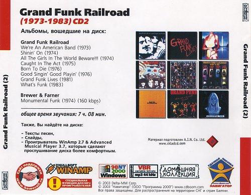Grand Funk Railroad CD2 (Back)