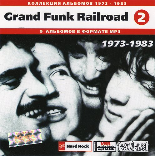 Grand Funk Railroad CD2 (Front)