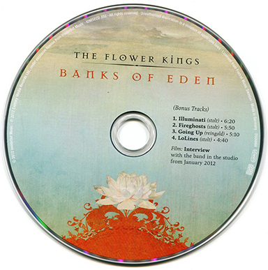Flower Kings, The - Banks of Eden (Limited Edition 2CD) 2012