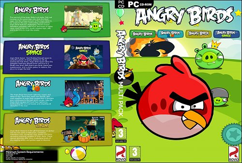 Angry Birds Multi Pack
