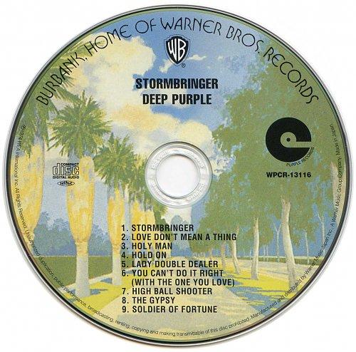 Deep Purple - Stormbringer (1974) (SHM-CD Japanese WPCR-13116)