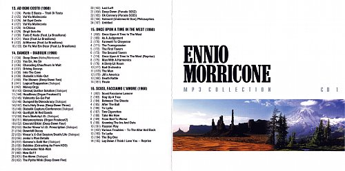 Ennio Morricone - MP3 Collection. CD1 (2004)
