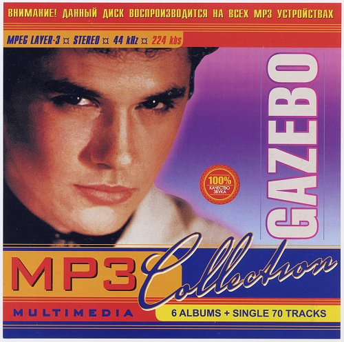 Gazebo - 6 Albums + Single 70 Tracks. MP3 Collection (2003)