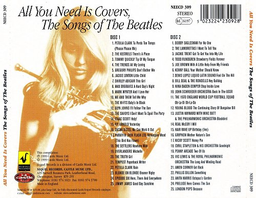 V.A. - All You Need Is Covers, The Songs of The Beatles (2CD) 1999