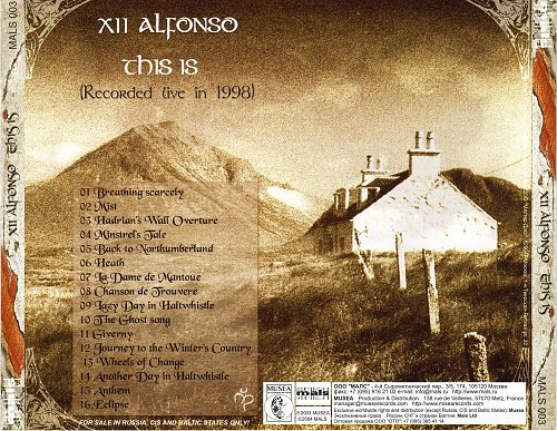 XII Alfonso - This Is [Live] (1998)
