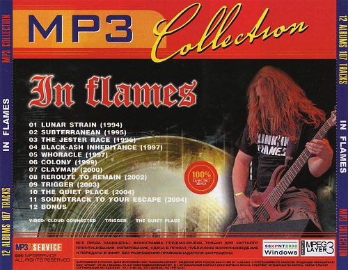 In Flames (MP3 Collection)