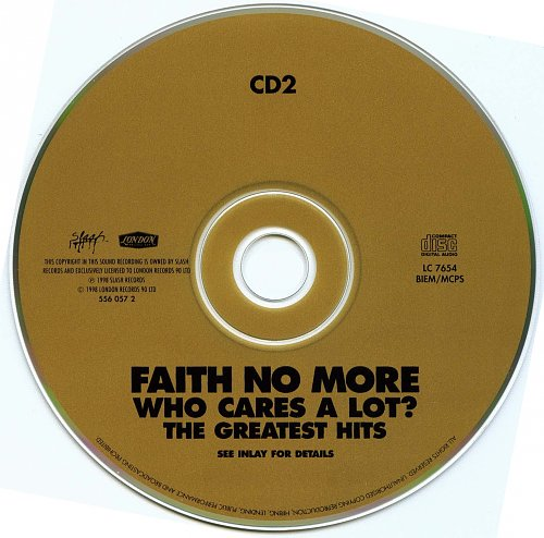 Faith No More - Who Cares A Lot? The Greatest Hits (2CD) (1998)