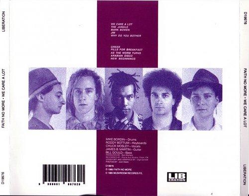 Faith No More - We Care A Lot (1985)