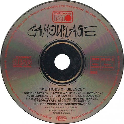 Camouflage - Methods Of Silence (1989)