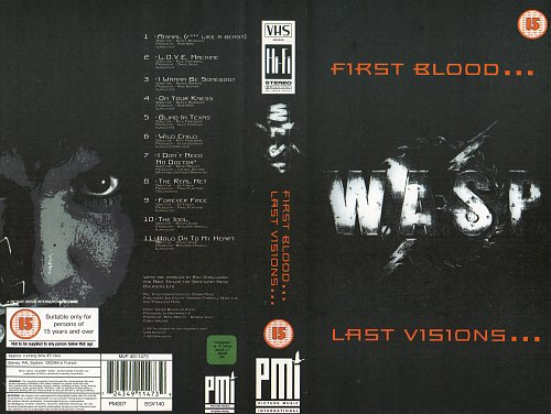 W.A.S.P. - First Blood... Last Visions... (1993)