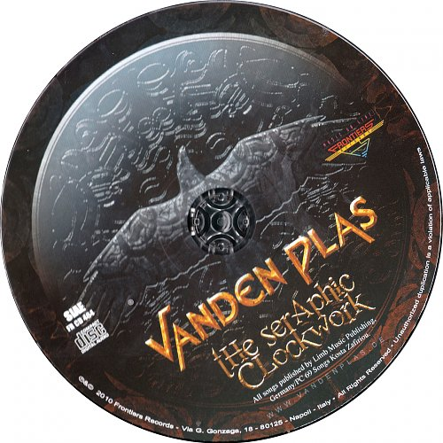 Vanden Plas - The Seraphic Clockwork (Limited Edition) 2010