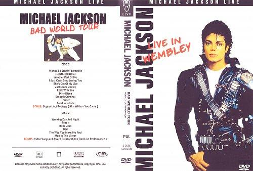 Michael Jackson-Bad World Tour. Live At Wembley 1988