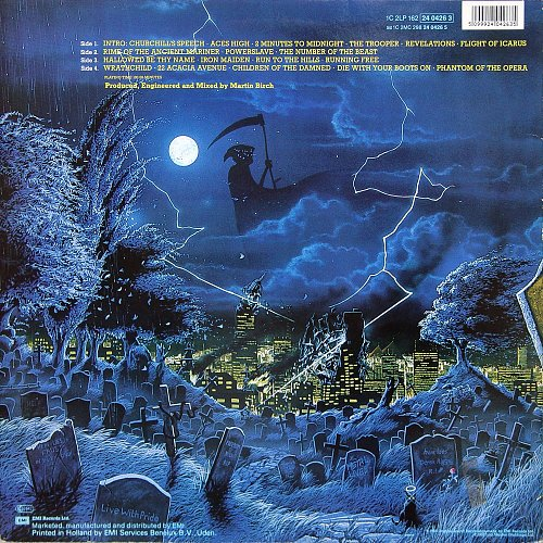 Iron Maiden - Live After Death (1985) 2LP