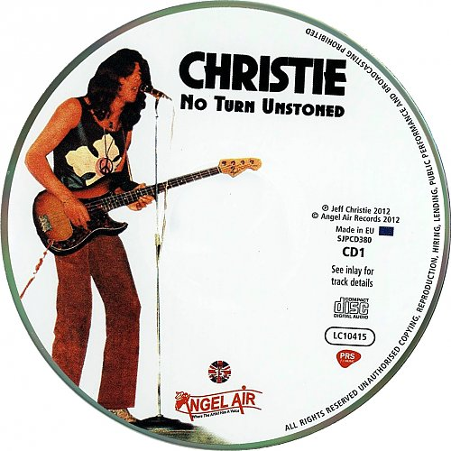 Christie - No Turn Unstoned (2CD) 2012