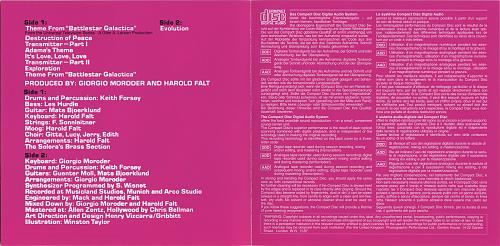 Giorgio Moroder - Music From 'Battlestar Galactica' (1978)