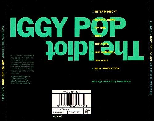 Iggy Pop - The Idiot (1977)