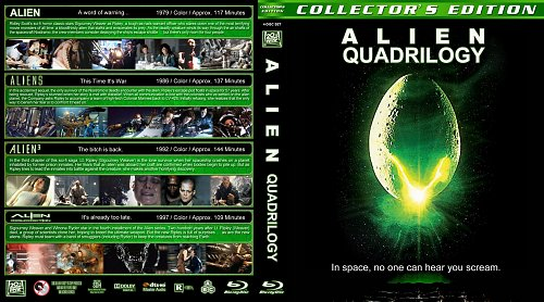 Чужие 1-4 Blu-ray
