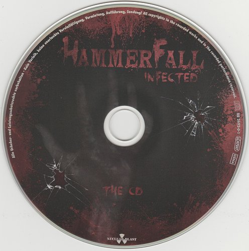 Hammerfall - Infected (Limited Edition) 2011