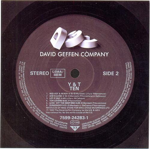 Y&T - Ten (1990)