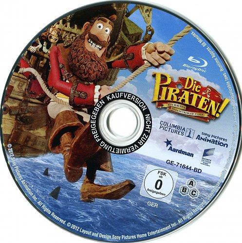 Пираты: Банда неудачников / Pirates! In an Adventure with Scientists (2012)