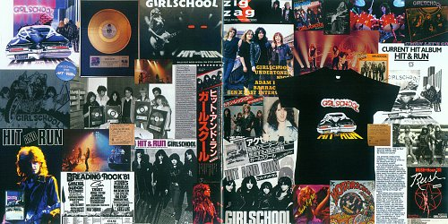 Girlschool - Hit And Run (1981) - Revisited 2011 (Germany)