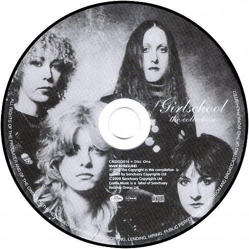 Girlschool - The Collection (1998) England (2000) 2CD