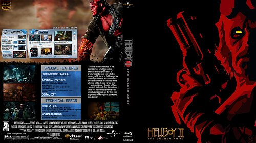 Хеллбой II: Золотая армия - Hellboy II: The Golden Army - 2008