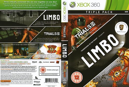 TRIALS HD + LIMBO +SPLOSION MAN