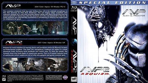 Чужой против Хищника 1-2 / AVP: Alien vs. Predator 1-2 (2004, 2007)