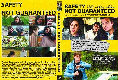 Безопасность не гарантируется / Safety Not Guaranteed (2012)