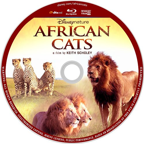 Африканские кошки. Королевство смелости / African Cats (2011)
