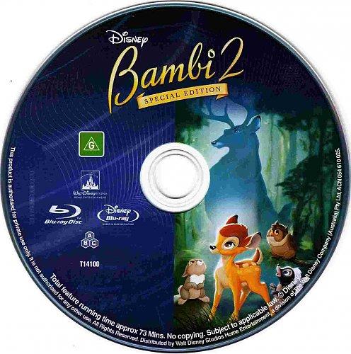 Бэмби 2 / Bambi II (2006)